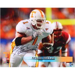 Jason Witten Signed Tennessee Volunteers 16x20 Photo (Witten Hologram)