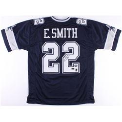Emmitt Smith Signed Cowboys Jersey (Radtke COA  Prova Hologram  Smith Hologram)