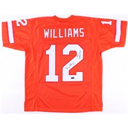"Doug Williams Signed Jersey Inscribed ""1979 Central Champs"" (Radtke COA)"