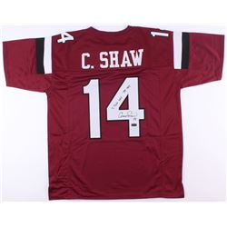 "Connor Shaw Signed Jersey Inscribed ""7,766 YDS""  ""74 TDS"" (Radkte COA)"