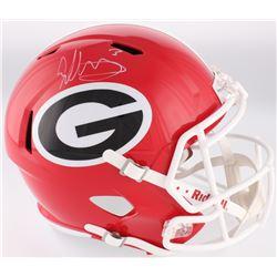 Todd Gurley Signed Georgia Bulldogs Full-Size Speed Helmet (Radtke COA)