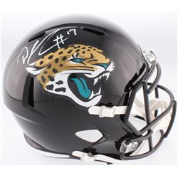 DJ Chark Signed Jaguars Full-Size Speed Helmet (Radtke COA)