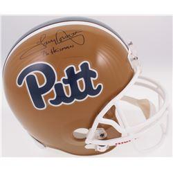 "Tony Dorsett Signed Pittsburgh Panthers Full-Size Helmet Inscribed ""76 Heisman"" (Radtke COA)"