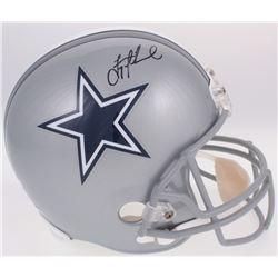 Troy Aikman Signed Dallas Cowboys Full-Size Helmet (Radtke COA  Aikman Hologram)
