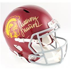 Anthony Munoz Signed USC Trojans Full-Size Speed Helmet (Radtke COA)