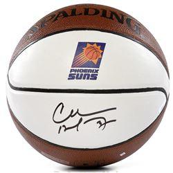 Charles Barkley Signed Suns Logo Basketball (Panini COA)
