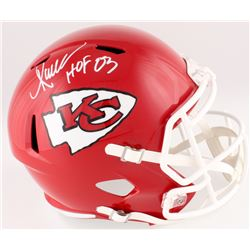 """Marcus Allen Signed Chiefs Full-Size Speed Helmet Inscribed """"HOF 03"""" (Radtke COA  Allen Hologram)"""