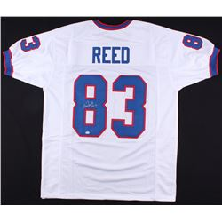 """Andre Reed Signed Jersey Inscribed """"HOF 14"""" (SGC COA)"""
