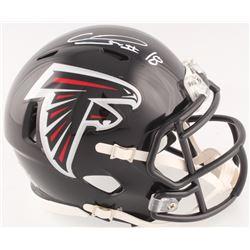 Calvin Ridley Signed Falcons Mini Speed Helmet (Radtke COA)