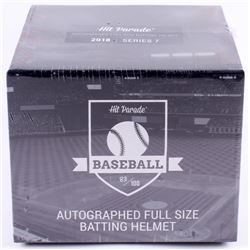 Hit Parade Autographed Full Size Batting Helmet Mystery Box - 2018 Series 7