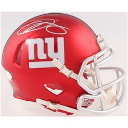 Odell Beckham Jr. Signed Giants Blaze Speed Mini Helmet (JSA COA)