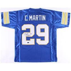 Curtis Martin Signed Jersey (Radtke COA)