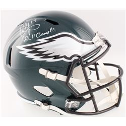 "Alshon Jeffery Signed Eagles Full-Size Speed Helmet Inscribed ""SBLII Champs!!!"" (Fanatics Hologram)"