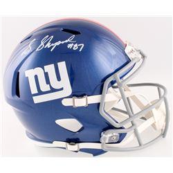 Sterling Shepard Signed Giants Full-Size Speed Helmet (Fanatics Hologram)