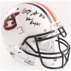 "Kerryon Johnson Signed Auburn Tigers Full-Size Authentic On-Field Helmet Inscribed ""War Eagle!"" (Rad"