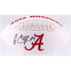 Amari Cooper Signed Alabama Crimson Tide Logo Football (JSA COA)