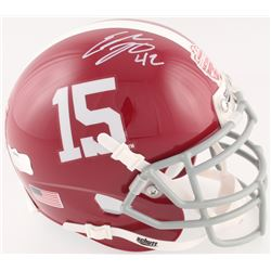 Eddie Lacy Signed Alabama Crimson Tide 2012 National Champions Mini Helmet (Radtke COA)