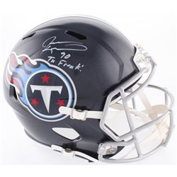 "Jevon Kearse Signed Titans Full-Size Speed Helmet Inscribed ""The Freak"" (Beckett COA)"
