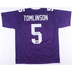 LaDainian Tomlinson Signed TCU Horned Frogs Jersey (Tomlinson Hologram  Radtke COA)