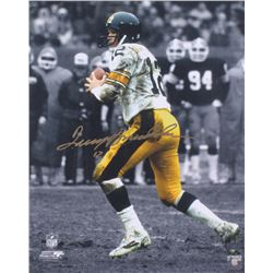 Terry Bradshaw Signed Steelers 16x20 Photo (Radtke COA)