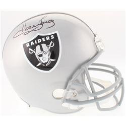 Howie Long Signed Raiders Full-Size Helmet (JSA COA)