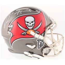 Mike Evans  Jameis Winston Signed Buccaneers Full-Size Speed Helmet (Radtke COA, Beckett COA,  Offic