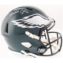 Randall Cunningham Signed Eagles Full-Size Speed Helmet (JSA COA  Radtke Hologram)