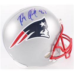 Rob Gronkowski Signed Patriots Full-Size Helmet (Radtke COA)