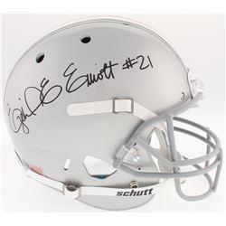 Ezekial Elliot Signed Ohio State Buckeyes Full-Size Helmet (Radtke COA  Beckett COA)