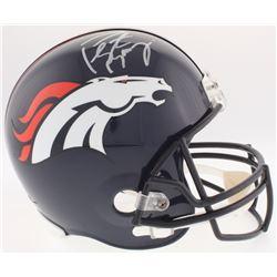Peyton Manning Signed Broncos Full-Size Helmet (Fanatics Hologram)