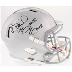 Ezekial Elliot Signed Ohio State Buckeyes Full-Size Speed Helmet (Radtke COA  Beckett COA)