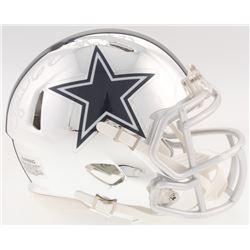 Ezekiel Elliott Signed Cowboys Speed Custom Chrome Mini-Helmet (Beckett COA)