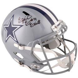 Ezekiel Elliott Signed Cowboys Full-Size Speed Helmet (Fanatics Hologram)