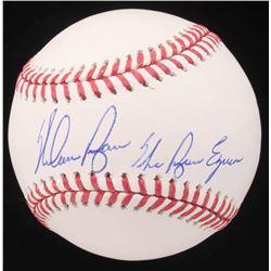 "Nolan Ryan Signed OML Baseball Inscribed ""The Ryan Express"" (AIV COA  Ryan Hologram)"