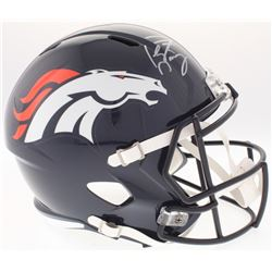 Peyton Manning Signed Broncos Full-Size Speed Helmet (Fanatics Hologram)