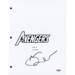 "Mark Ruffalo Signed ""The Avengers"" Movie Script Cover (PSA COA)"