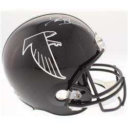 Deion Sanders Signed Falcons Full-Size Helmet (Radtke COA)