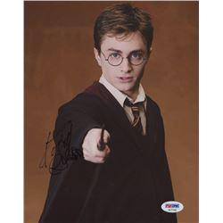 "Daniel Radcliffe Signed ""Harry Potter"" 8x10 Photo (PSA COA)"