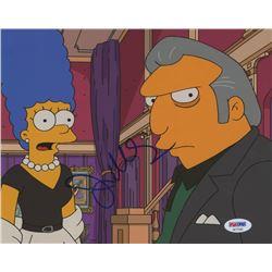 "Joe Mantegna Signed ""The Simpsons"" 8x10 Photo (PSA COA)"