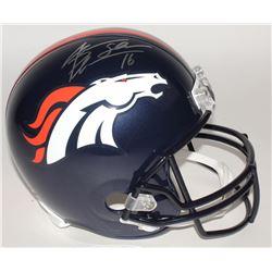 """Jake Plummer Signed Broncos Full-Size Helmet Inscribed """"Snake"""" (Beckett COA)"""