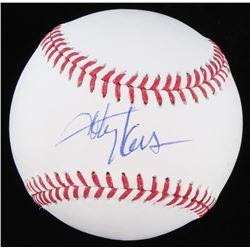 Toby Keith Signed OML Baseball (JSA COA)