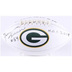 Jerry Kramer Signed Packers Logo Football Inscribed  H.O.F. 2018  (Radtke COA)