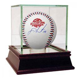 J.D. Martinez Signed 2018 All-Star Game Logo Baseball (Steiner COA)