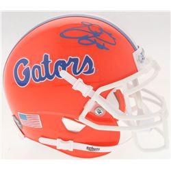 Emmitt Smith Signed Florida Gators Mini Helmet (Prova COA)