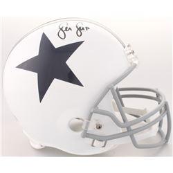 Sean Lee Signed Cowboys Full-Size Throwback Helmet (Radtke COA)