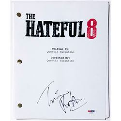 "Tim Roth Signed ""The Hateful Eight"" Full Movie Script (PSA Hologram)"