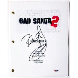 "Billy Bob Thornton Signed ""Bad Santa 2"" Full Movie Script (PSA COA)"