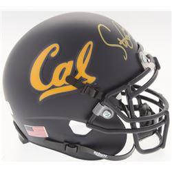 Steve Bartkowski Signed California Golden Bears Mini-Helmet (Radtke COA)