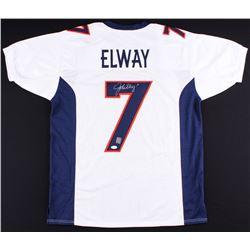 John Elway Signed Jersey (JSA COA  Elway Hologram)