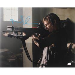 "Norman Reedus Signed ""The Walking Dead"" 16x20 Photo (JSA COA)"
